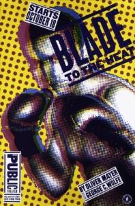 Paula Scher, Blade to the Heat Affiche, 1994