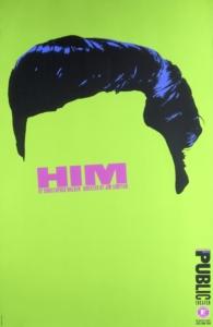 Paula Scher, Him Affiche, 1994