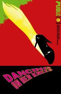 Paula Scher, Dancing on Her Knees Affiche, 1996