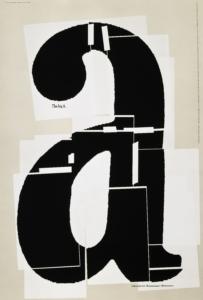 Paul Scher, Big A Affiche, 1991