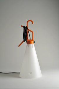 Konstantin Grcic, Mayday Lampe portative, 1998