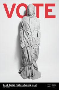 Rafael Esquer, Vote Affiche,  2004